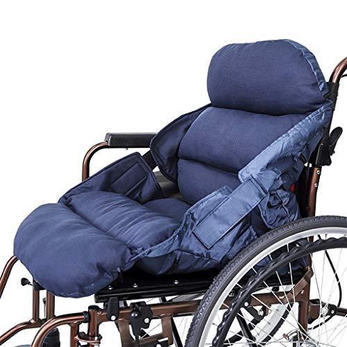 UIKH Siamesische Kissen Kissen Gepolstert Winddicht Rollstuhl Warm Pad Home Out Rückenlehne Kissen Abnehmbare Wäsche (ohne Rollstuhl)