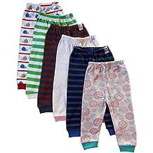 NammaBaby Baby Pajama Pant With Rib MIXED PRINTS - SET OF 6