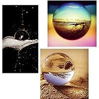 Aliciashouse Quarzo puro Clear Magic cristallo Healing sfera Speculum Slickball