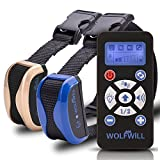 WOLFWILL Remote Dog Training Collar - 800 Yards Waterproof & Rechargeable Collar
