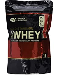 Optimum Nutrition Whey Gold Standard Protein, Erdbeere, 1er Pack (1 x 450g)