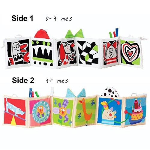 Imagen para Bebé Libro de Suave Tela Aprendizaje y Educación Blando Libros Juguete para 0 - 3 Años Infantiles