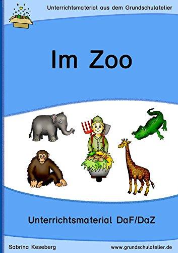 Preisvergleich Produktbild Im Zoo (Unterrichtsmaterial für Deutsch als Fremdsprache,  DaF - CD-Rom,  pdf-Format)