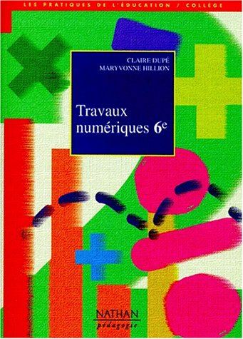 Travaux numériques en 6e par Claire Dupé