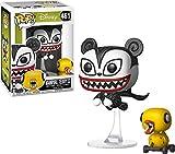 Funko- Figurines Pop Vinyl: Disney: NBX: Vampire Teddy w/Undead Duck Collectible Figure, 34429, Multcolour