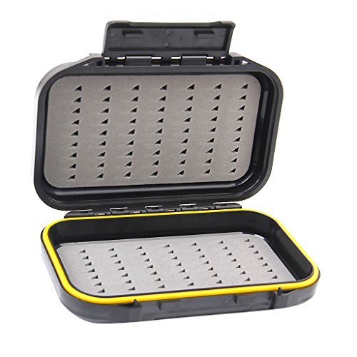Waterproof Dual-Layer Fly Fishing Bait Storage Case Box Test