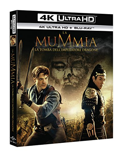 La Mummia: La Tomba dell'Imperatore Dragone (4K Ultra HD + Blu-Ray)