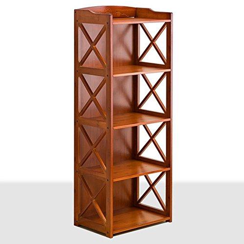 Shelf ZHANGRONG- Einfaches Bücherregal \ Simple Modern Floor Schreibtischschrank \ Stehender Student Plaid Cabinet \ Free Kombination...