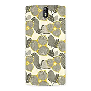 Delighted Unknown Creature Print Back Case Cover for One Plus One