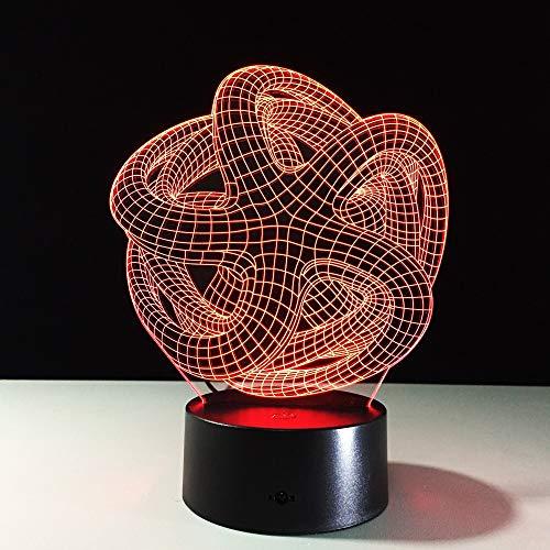 licht Rgb Ändern Stimmung Lampe LED Licht Dc 5 V USB Dekorative Tischlampe Special Art Home Office Party Decor ()
