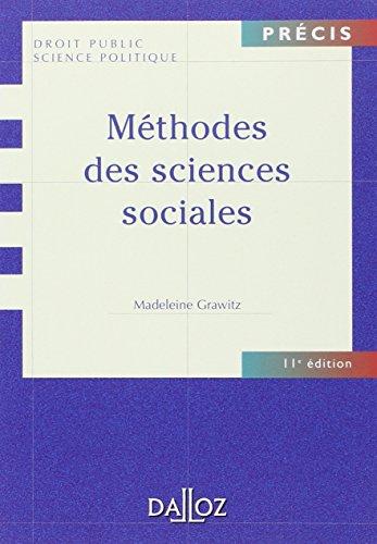 Méthodes des sciences sociales