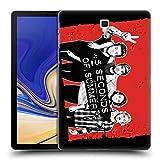 Head Case Designs Offizielle 5 Seconds of Summer Frieden Rot Gruppenbild Derp Ruckseite Hülle für Samsung Galaxy Tab S4 10.5 (2018)