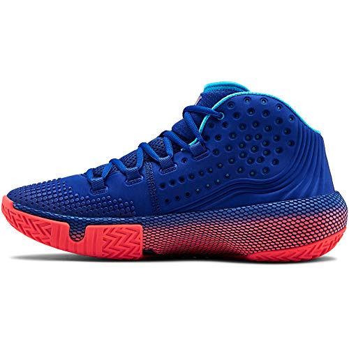 Under Armour Herren Ua HOVR Havoc 2 Basketballschuhe, Blau (Royal/Capri/Black (400) 400), 47 EU