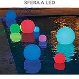 professional SFERA LUMINOSA PISCINA LED BALLS IMPERMEABILE COLORE RGB PER PISCINA E GIARDINO