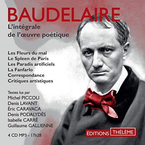 L'intégrale de l'oeuvre poétique par Charles Baudelaire