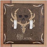 Bone Collector bagno switchplate doppio