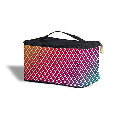 Mini Kosmetik-etui (Rainbow Mini Diamonds Cosmetics Storage Case - One Size Cosmetics Storage Case Kosmetik-Etui Kosmetikorganiser)