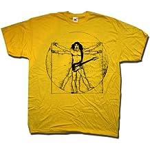 A tribute to Frank Zappa T shirt - Vitruvian Zappa - An Old Skool Hooligans I...