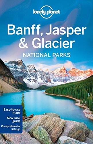 Country Map Trail North (Lonely Planet Banff, Jasper and Glacier National Parks)