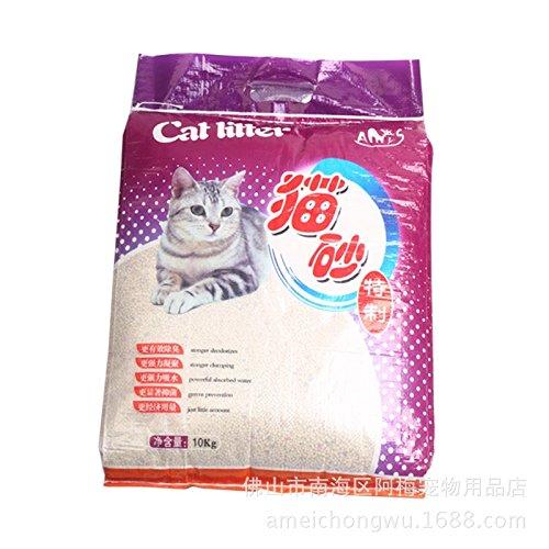 ZPP-Materiali di consumo di Pet lettiera di gatto 10kg jasmine aromi bentonite missione finale-odore gatto forniture di lettiera