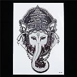 TATTOO Temporär Arm Oberarm Tattoo Aufkleber Thai Elefant für Körper HB208