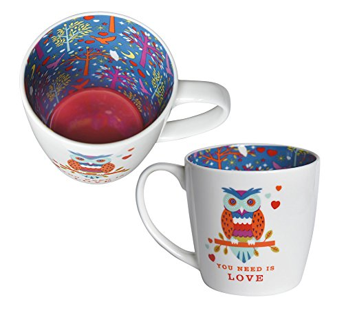 Owl You Need Is Love Inside Out Mug In Gift Box Special Mugs Gifts