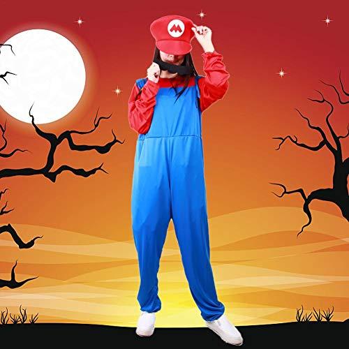 Kostüm für Erwachsene, Damen, Super-Rolle, Cosplay-Kostüm, Cartoon-Charaktere, Halloween, Make-up, Party, Theater, Kostüm, Motto, rot