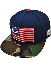 Cayler & Sons Snapback Cap - BK Salute Navy / Woodland