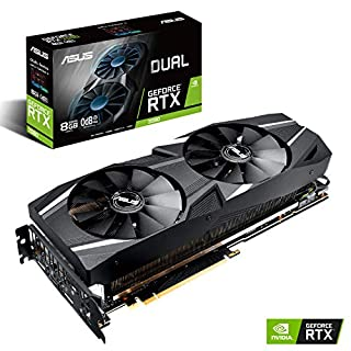 ASUS Dual RTX2080 8G VR Ready Gaming Graphics Card - Turing Architecture (Dual RTX2080-8G) Graphic Cards DUAL-RTX2080-8G (B07JDV1NCV) | Amazon price tracker / tracking, Amazon price history charts, Amazon price watches, Amazon price drop alerts