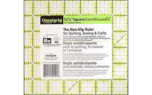 Dritz Omnigrid 12-1//2-Inch by 12-1//2-Inch Quilters Square