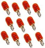 AERZETIX: 10 X T10 Birne Lampen Glühbirne WY5W 12V 5W orange
