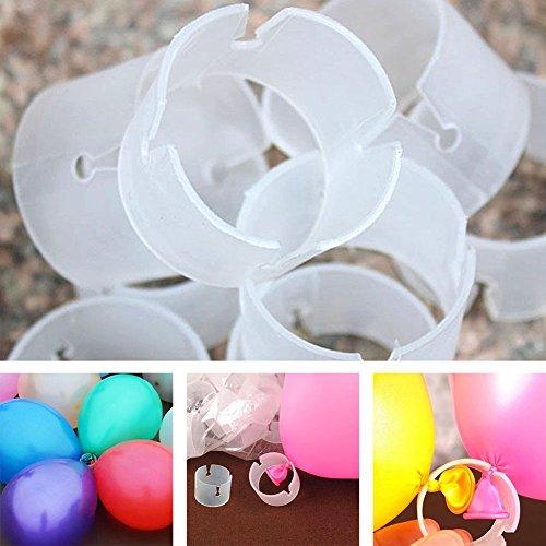 Luftballons Arch Schnallen Stecker Clips leicht DIY Bögen Hochzeit Party Geburtstag Ball Deko 50