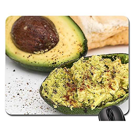 Computer Matte,Avocado-Salat-Frische Nahrungsmittelvegetarier-Diät-Mittagessen-Perfekter Laptop-Spiel-Auflage 30Cmx25Cm