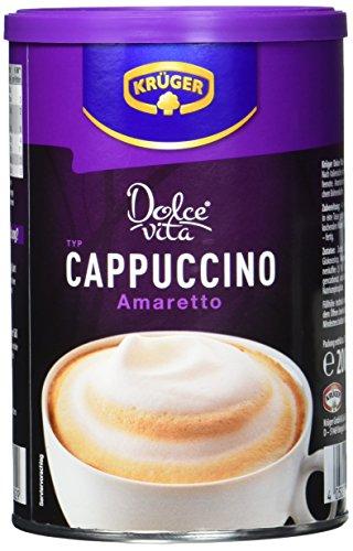KRÜGER Dolce Vita Cappuccino Amaretto Dose, 4er Pack (4 x 0.2 kg)