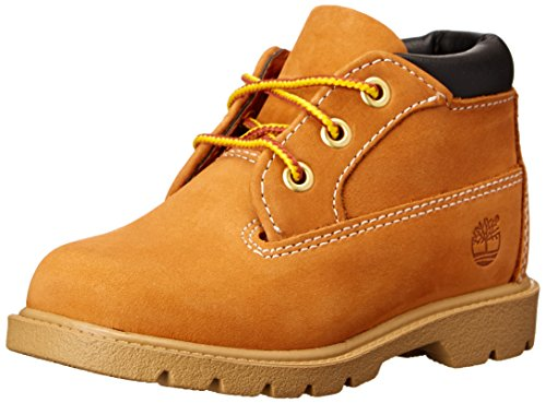 Timberland Classic 3 Eye Chukka, Butter Pecan, 7 M US Toddler