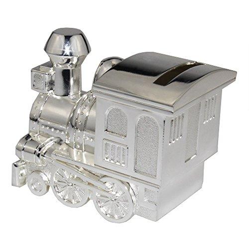 Hucha, FGF pequeñas Hucha, diseño de locomotora, plata rks-cb010