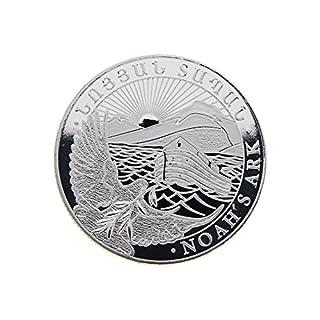 LEV 1/2 oz Armenien 2017 - Noahs Ark (Arche Noah) - 999/1000 Silbermünze
