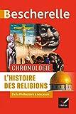Bescherelle Chronologie de l'histoire des religions - De la Préhistoire à nos jours