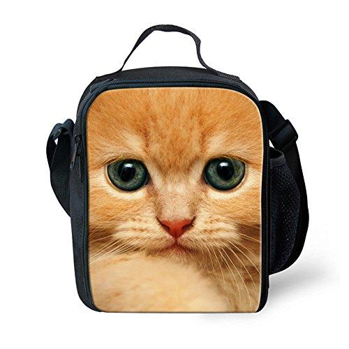 showudesigns Picknick Isolierte Lunch Tasche Thermo Kinder Erwachsene Wärmer Lunchbox tragbar, Neopren, Cat 2, S -