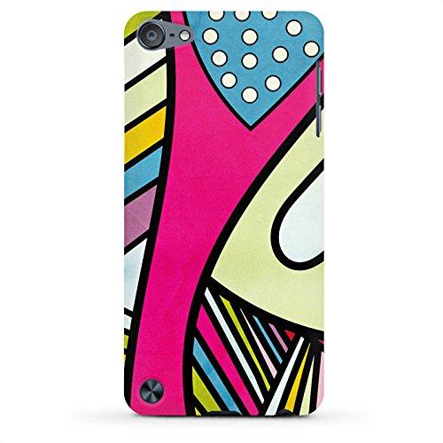 Apple iPod touch 5. Generation Case Hülle Schutzhülle Cover PremiumCase matt white - Fake Colors (Fake Touch Ipod)