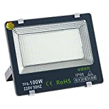 100W LED Strahler,105000LM Superhell Fluter,IP66...