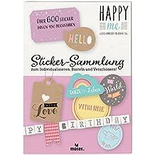 Moses. 63120Happy Me Sticker collezione Hello | oltre 600Sticker | con 450lettere