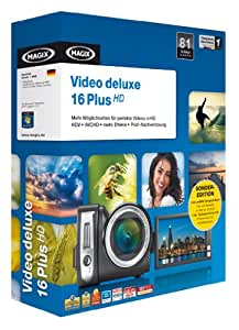 MAGIX Video deluxe 16 Plus SONDEREDITION Minibox
