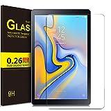 ELTD Glas Displaysfolie für Samsung Galaxy Tab A 10.5, Rounded Corners 2.5D, 9H Härte, gehärtetes Glas Displayschutz Glasfolie Panzerfolie für Samsung T595/T590 Galaxy Tab A 10.5 Zoll (1 Stück)