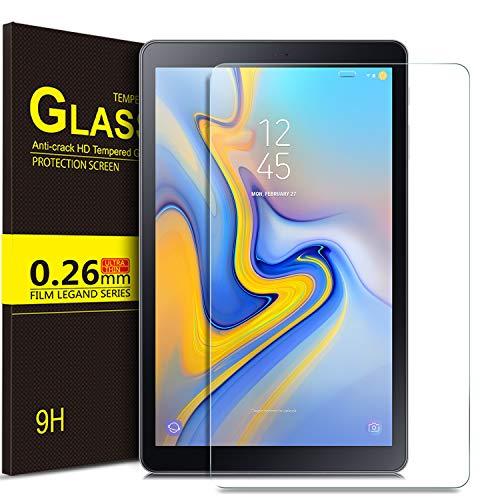 ELTD Glas Displaysfolie für Samsung Galaxy Tab A 10.5, Rounded Corners 2.5D, 9H Härte, gehärtetes Glas Displayschutz Glasfolie Panzerfolie für Samsung T595/T590 Galaxy Tab A 10.5 Zoll (1 Stück) Industrie-handy-fall