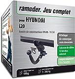 Rameder Attelage rotule démontable pour Hyundai i20 + Faisceau 13 Broches...