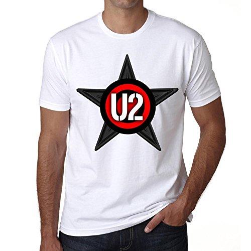 U2 Group Tour Herren T-shirt - Weiß, XL, t shirt herren,Geschenk, gebraucht gebraucht kaufen  Wird an jeden Ort in Deutschland