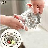 Küche Waschbecken Fitting Siebbeutel Einweg Müllbeutel Müllsack (100 Pcs) Mayco Bell