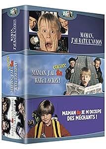 Maman, j'ai raté l'avion / Maman, j'ai encore raté l'avion - Maman, je m'occupe des méchants - Coffret 3 DVD