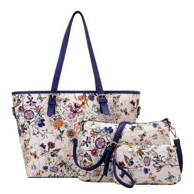 KVNHTY&NC Women's Tassel Tote Bags Damen Schultertasche Damen Taschen Tote Bag, Royal Blue